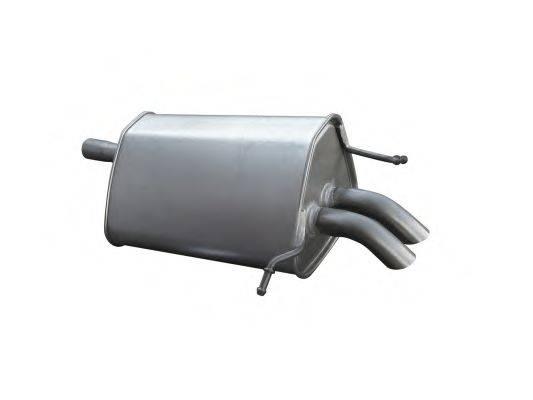 Глушитель выхлопных газов конечный ASMET 01.044
