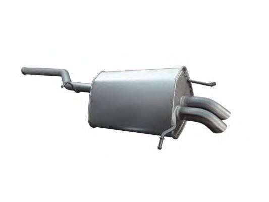 Глушитель выхлопных газов конечный ASMET 01.045