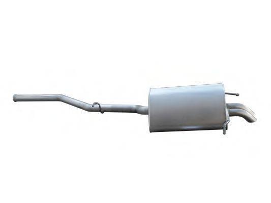 Глушитель выхлопных газов конечный ASMET 01.047