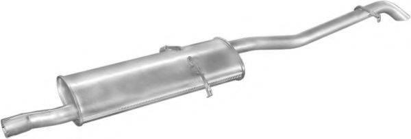 Глушитель выхлопных газов конечный POLMO 13.181
