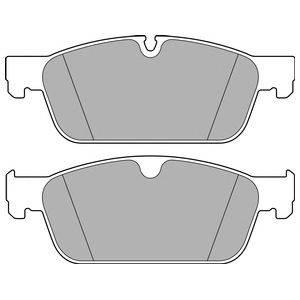 Комплект тормозных колодок, дисковый тормоз DELPHI LP2705