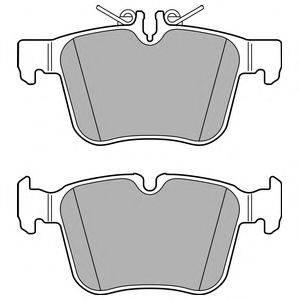 Комплект тормозных колодок, дисковый тормоз DELPHI LP2763