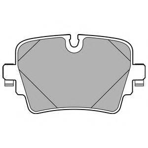 Комплект тормозных колодок, дисковый тормоз DELPHI LP2768
