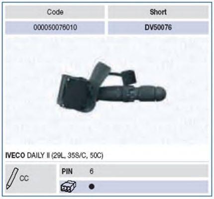 Выключатель на колонке рулевого управления MAGNETI MARELLI 000050076010